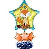 Creative Converting (049993) Balloon Centerpiece Kit, Forest Fox