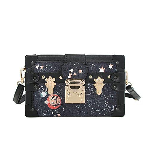Beatfull Stylish Box Crossbody bag Designer Shoulder Bags for Women, Box Crossbody Purse Wallet, Party Evening Clutch Satchel Handbag - Inspired Designer