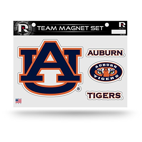 Rico Industries NCAA Auburn Tigers Die Cut Team Magnet Set Sheet