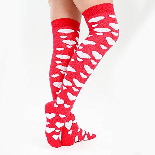 Los de rom corazones con calcetines mujer FrSqOw7FxB