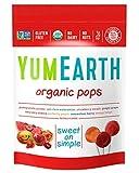 Yumearth Organic - Gluten Free - Non GMO- Natural Lollipops, 3 Ounce Resealable Bag, 3 Ounces