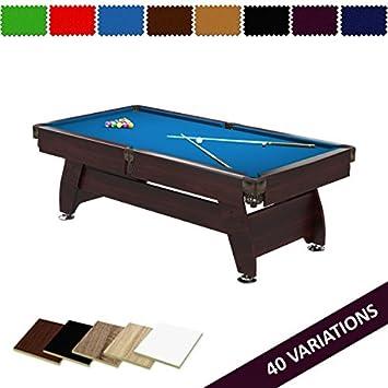Radley mesa de billar 7 pies Vintage + opciones para personalizar + Gratis Accesorios: Amazon.es: Deportes y aire libre