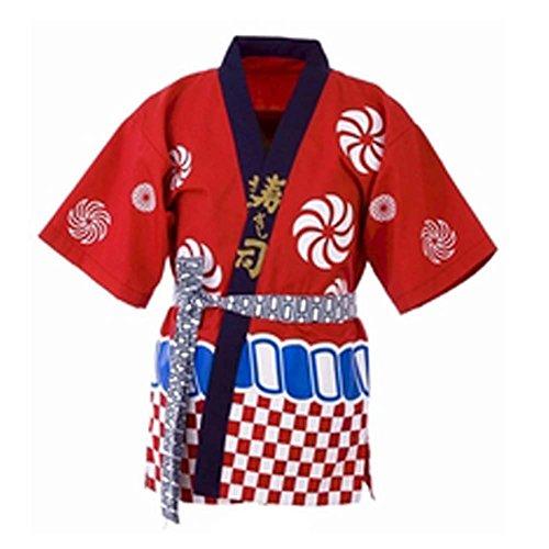 Japanese Style Sushi Bar Restaurant Bar Clothes Waiter Uniform Chef Jacket for High-end Bar, E-04