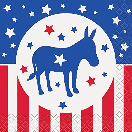 Democratic Party Election Cocktail Napkins