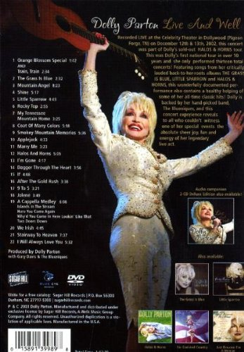Dolly Parton: Live And Well by EMD