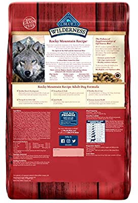 Blue Buffalo Wilderness High Protein Grain Free, Natural Adult Small Breed Dry Dog Food, Chicken