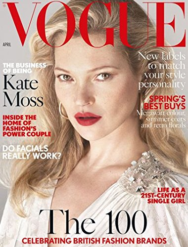 Vogue UK Magazine (April, 2017) Kate Moss - Kate Vogue Moss