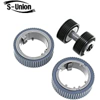 S-Union New Scanner Brake and Pick Roller Set for Fujitsu Fi-7160 Fi-7180 Fi-7260 Fi-7280 Part NO: PA03670-0001 PA03670-0002 Model: FI-C728PR FI-C728BR
