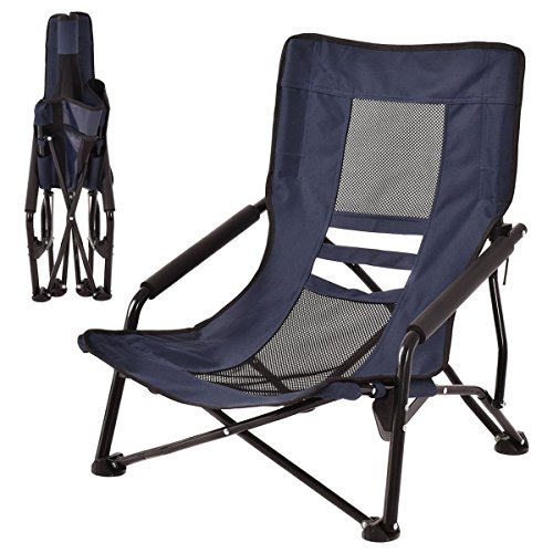 Yellowstone Low Profile Folding Camping Chair Green