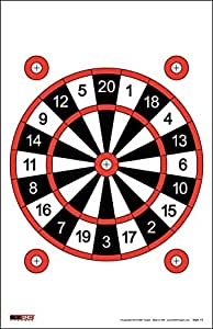 EZ2C Targets Style 15 Dart Board (25 Pack)