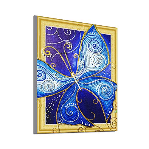 BeautyShe Diamond Painting Kits for Adults, 5D DIY Full Drill Diamond Art Kit with Crystal Rhinestone,Paint with Diamond for Home Wall Decor]()