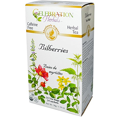 Celebration Herbals Organic Caffeine Bilberries