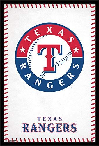 Trends International Texas Rangers - Logo Wall Poster, Multi -