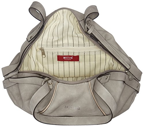 Lhz Gris Grey Light Mustang Anna Omaha Cabas Shopper q4p7St