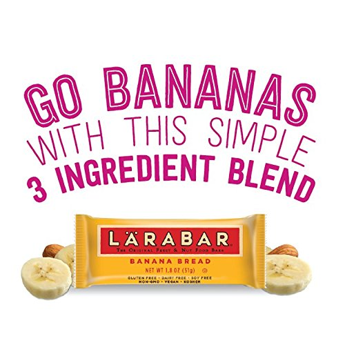 Larabar Gluten Free Bar, Banana Bread, 1.8 oz Bars (16 Count), Whole Food Gluten Free Bars, Dairy Free Snacks by LÄRABAR (Image #5)