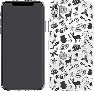 Switch iPhone X Skin X-mas Pattern 2