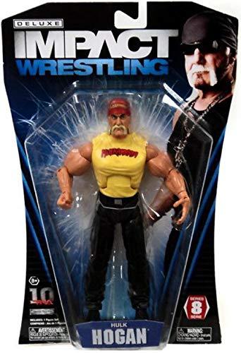TNA Wrestling Deluxe Impact Series 8 Action Figure Hulk Hogan