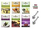 Mighty Leaf Tea Variety Pack (Pack of 6) 1 Mighty Leaf Tea Chamomile Citrus, 1 Mighty Leaf Tea Green Tea Tropical, 1 Mighty Leaf Tea Mint Melange, 1 Mighty Leaf Tea Organic Earl Grey, 1 Mighty Leaf Tea White Orchard, 1 Mighty Leaf Tea Organic Breakfast (W