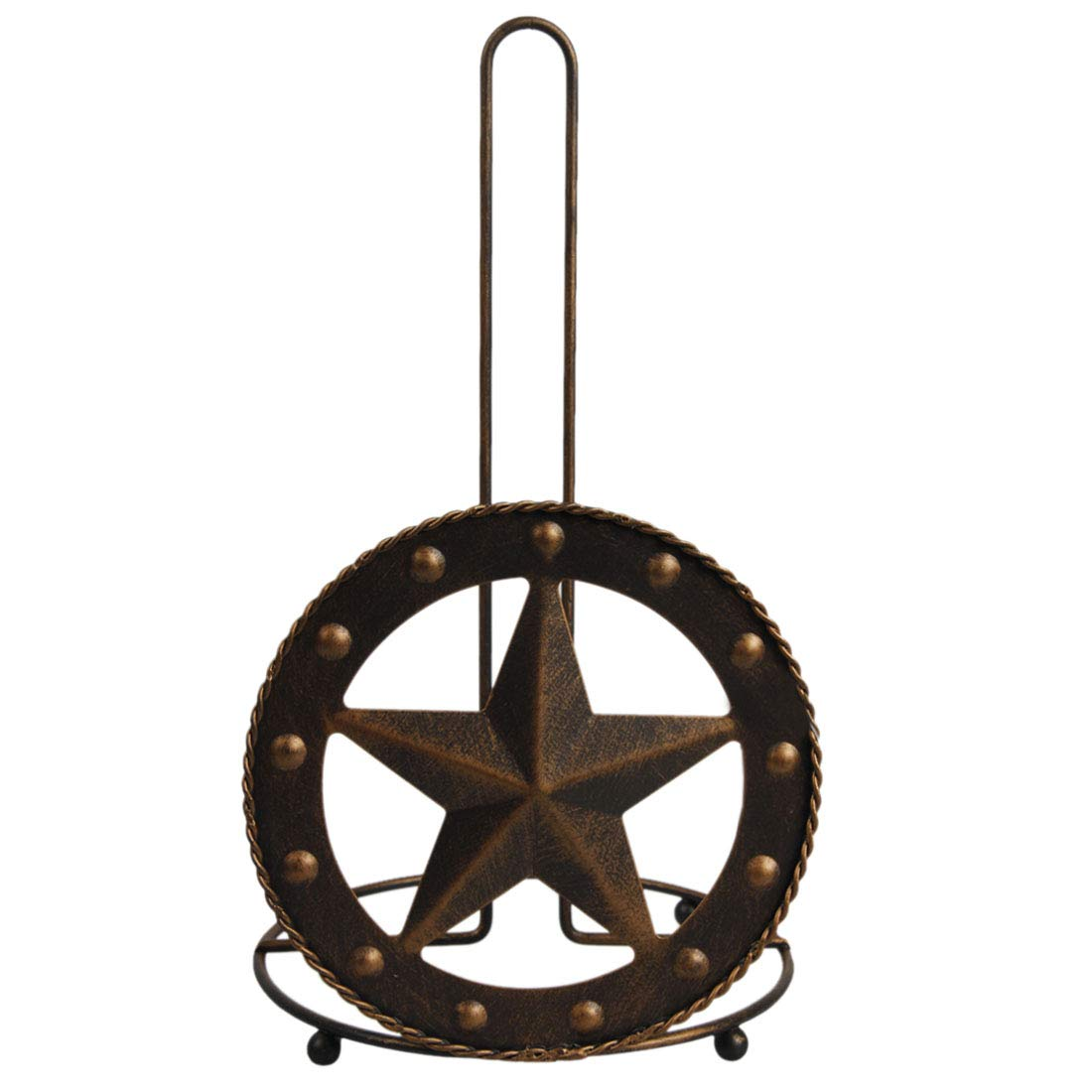 Texas Towel Paper Holder Rustic Barn Star Vintage Western Home Crafts Toilet Napkin Holder