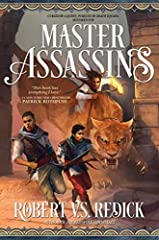 """""""This book has everything I love: Clean, crisp worldbuilding. Characters that live and breathe. A story that teases and surprises me. I like Master Assassins so much I wish I'd written it, but deep down, I know I couldn't have written it this..."""