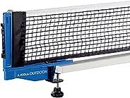 "JOOLA Outdoor Weatherproof Table Tennis Net and Post Set - Waterproof 72"" Regulation Size Ping Pong Screw"