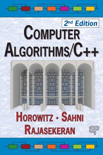 Computer Algorithms / C++