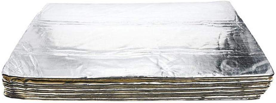 Isolation Thermique et sonore imperm/éable Protection Contre Chaleur et humidit/é Designer Ideal mod/ération du Bruit Acoustique du Moteur Dadahuam 12PCS Tapis de Voiture Isolant