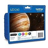 Brother Lc1240 Inkjet Cartridge Value Pack - Cyan/Magenta/Yellow/Black LC1240VALBP