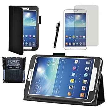 hot sale online feb50 5476b MOFRED® Black Samsung Galaxy Tab 3 8