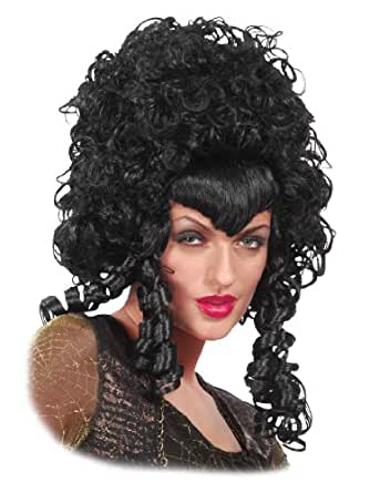 how to style poofy curly hair curly black wig big hair mess poofy 3703