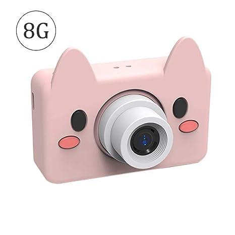 Cámara niños cámara digital 8 MP HD antigolpes Rechargable con ...