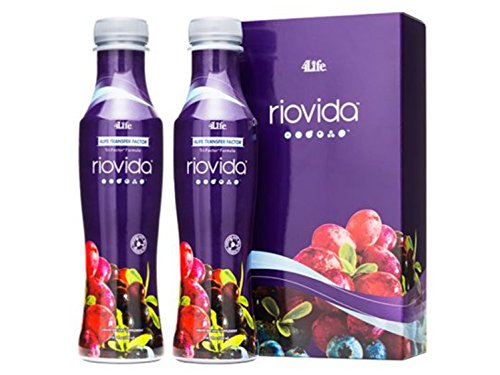 X-factor System (4Life Transfer Factor RioVida with Transfer Factor by 4Life - 2 X 500ml. Bottles)