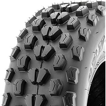 SunF ATV UTV 21x7-10 All Terrain 6 PR Tubeless Replacement Trail Tire A017, [Single]