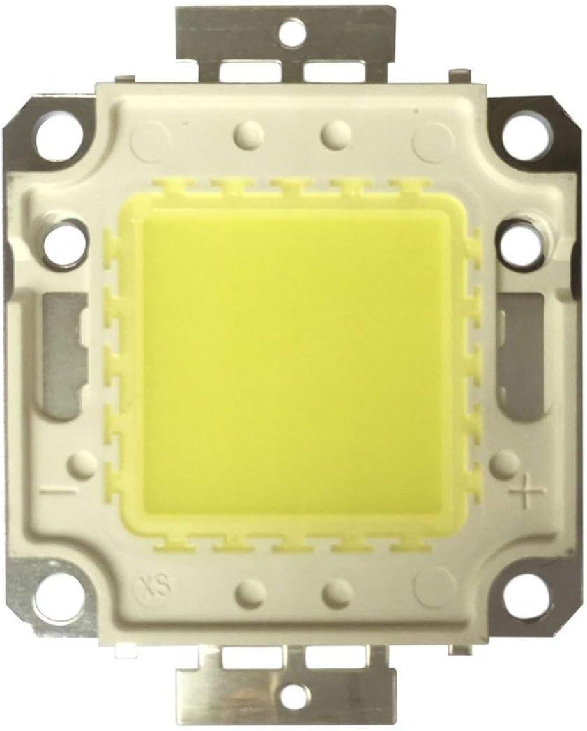 Bianco Funnyrunstore High Power Bianco//Bianco Caldo 3000mA 32-35 V RGB SMD LED Chip Flood Light Spotlight Lampada Integrata Bead 100W 10000LM