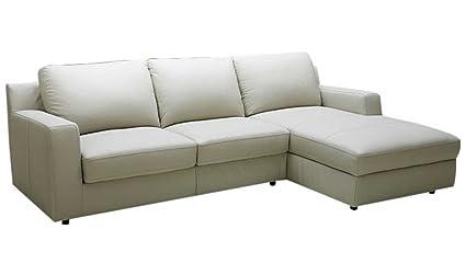 Amazon.com: J&M Furniture Lauren Leather Right Facing ...
