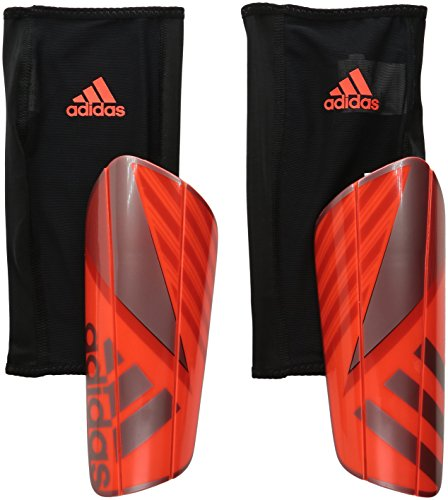 adidas Performance Ghost Pro Shin Guard, X-Small, Solar Red/