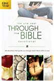 The One Year Through the Bible Devotional: 365 Devotions That Guide You Through God's Word within a Year (One Year Book)