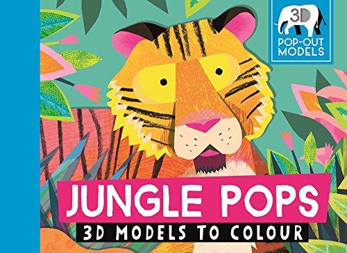 Jungle Pops: 3D Models to Colour