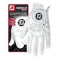 FootJoy New Contour FLX Flex Men's Premium Golf Glove w/CabrettaSof Leather #1 Glove in Golf