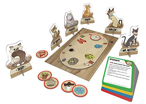 51W4wm02OkL - ThinkFun Cat Crimes Logic Game and Brainteaser for Boys and Girls Age 8 and Up - A Smart Game with a Fun Theme and Hilarious Artwork