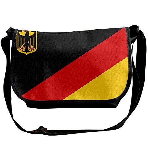 Futong Huaxia Flag Of Germany Travel Messenger Bags Casual Handbag School Shoulder Bag Crossbody Bag Unisex Sling Bag