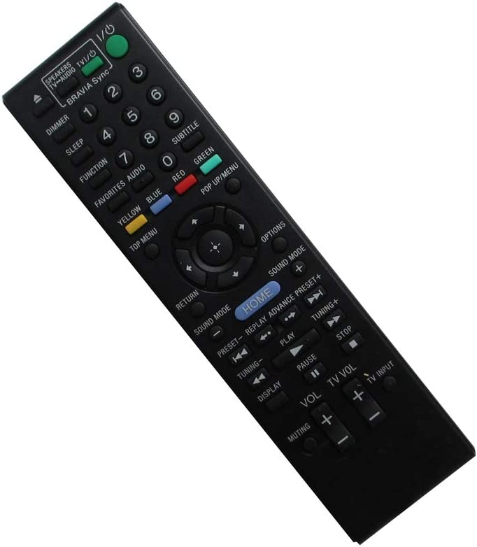 HCDZ Replacement Remote Control for Sony RM-ADP053 BDV-E970W BDV-E470 BDV-N790W BDV-E370 BDV-E770W BDV-E870 148994911 BD Blu-ray DVD Home Theater AV System