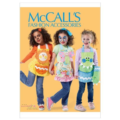 McCall Patterns M6618KID Children's Aprons, Mitts and Pot Holders Sewing Pattern, All Sizes by McCall ()