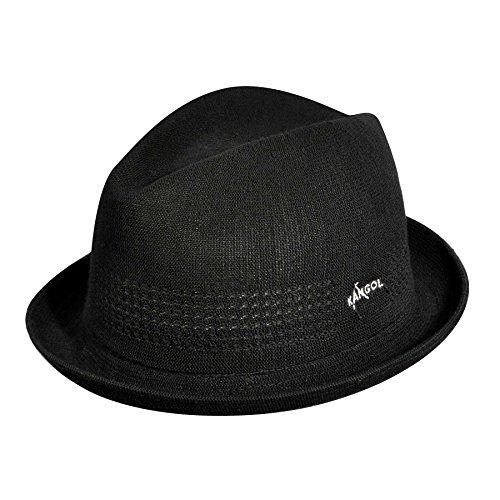 Hats Fedora Kangol (Kangol Men Worsted Player Black M)