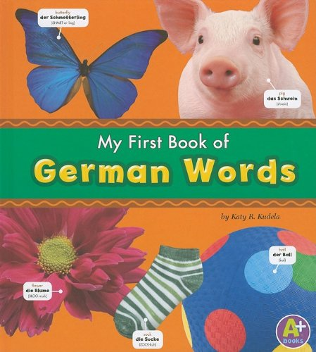 My First Book of German Words (Bilingual Picture Dictionaries) (Multilingual Edition) pdf