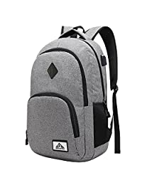 Lightweight Laptop Backpack with Basic Waterproof Airbag Resistant Daypack bag Travel Bag Work School College Fold able computer Backpacks for men and women,Gary Business Backpack fit 15 15.6 laptops by COCOFLY