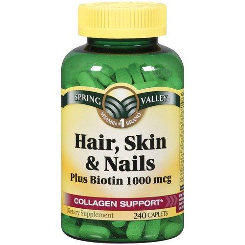 Spring-Valley-Hair-Skin-Nails-Biotin-Collagen-Gelatin