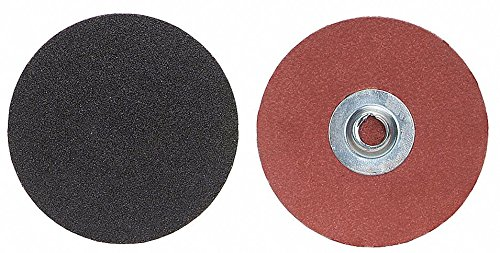 2'' Coated Quick Change Disc, TS/TSM Turn-On/Off Type 2, 24, Extra Coarse, Aluminum Oxide, 100 PK