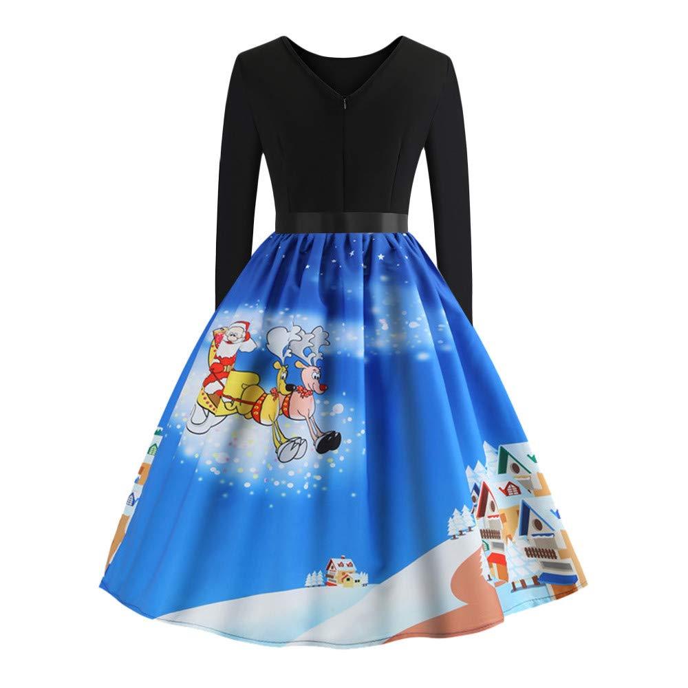 04f3371873ef4 cureture ❤ ❤ Women's Cocktail Dress Christmas Dress Casual Dress ...