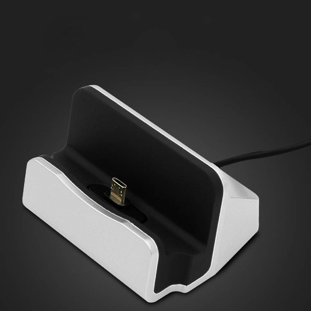 Autumn Water Charging Base Dock Station for IP X 8 7 6 USB Cable Sync Cradle Charger Base for Android Type C Samsung Stand Holder by Autumn Water (Image #2)
